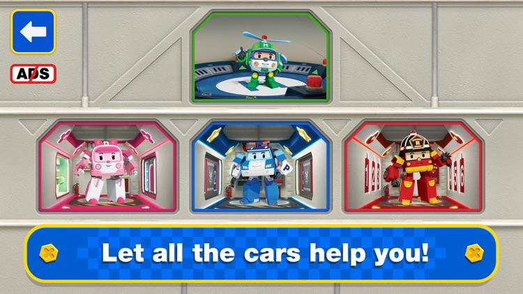 Robocar Poli Postman Games! screenshot-5