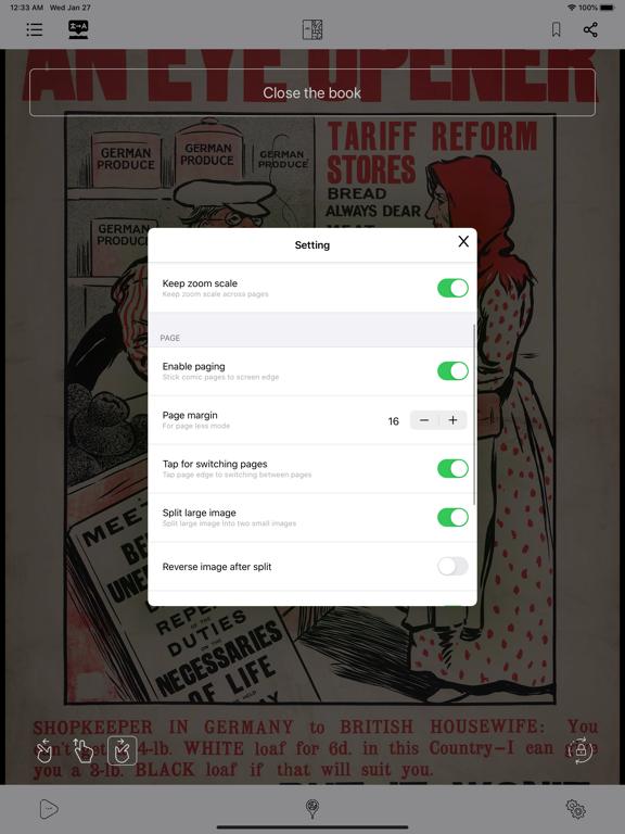KedaManga - Comic reader screenshot 13