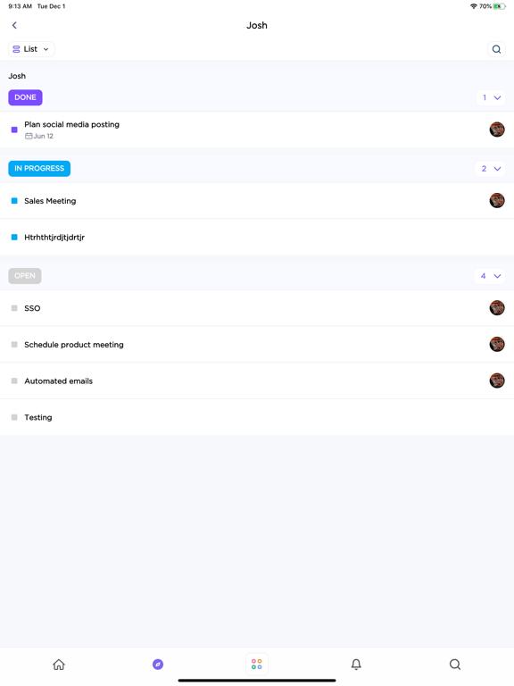 ClickUp - Manage Teams & Tasks screenshot