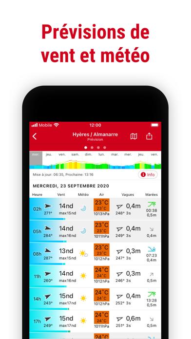 Windfinder Pro: vent & météo