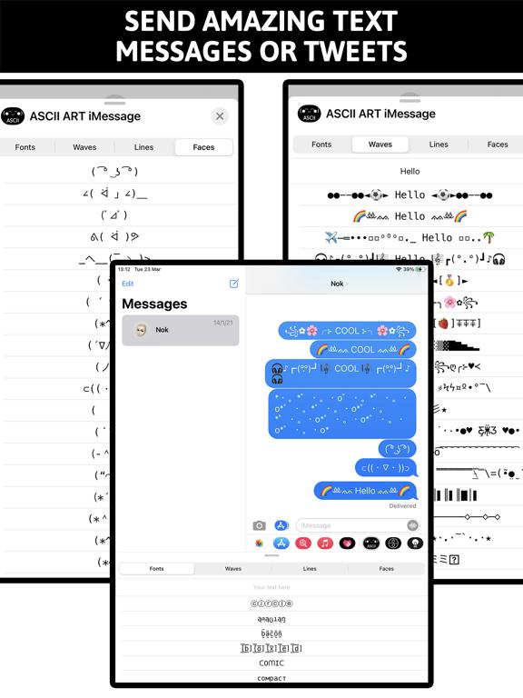 Ascii Art Keyboard screenshot 5