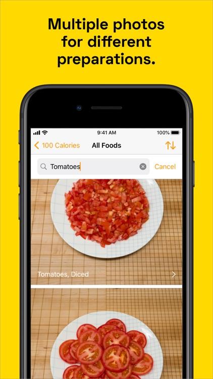 100 Calories: Food Photos screenshot-4