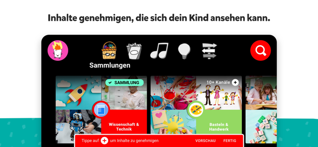 643x0w YouTube Kids in Deutschland gestartet Software Technologie Web