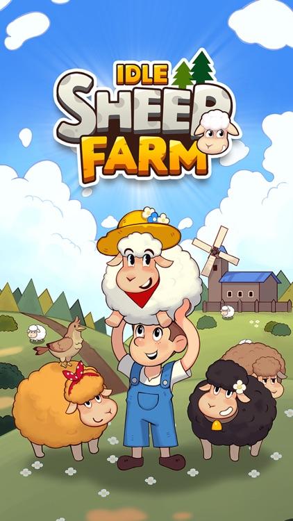 Sheep Farm: Idle games, Tycoon screenshot-0