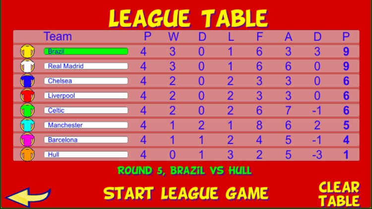 Table Football, Soccer,  Pro screenshot-5