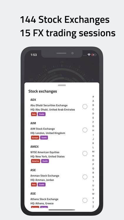 ClockStock 2 - Stock & FX time screenshot-3