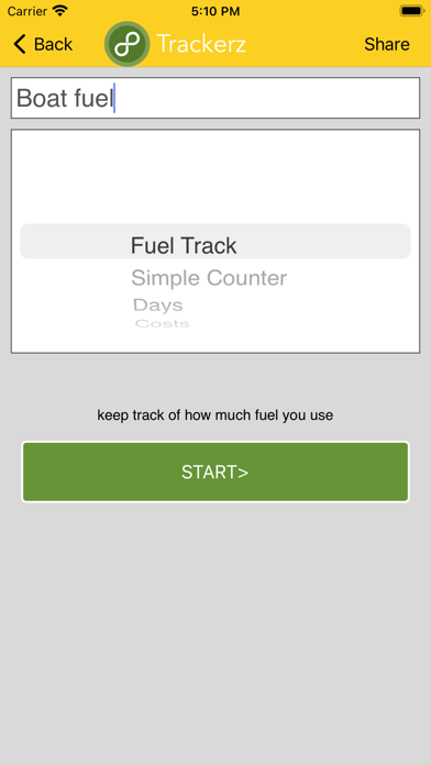 Trackerz screenshot 2