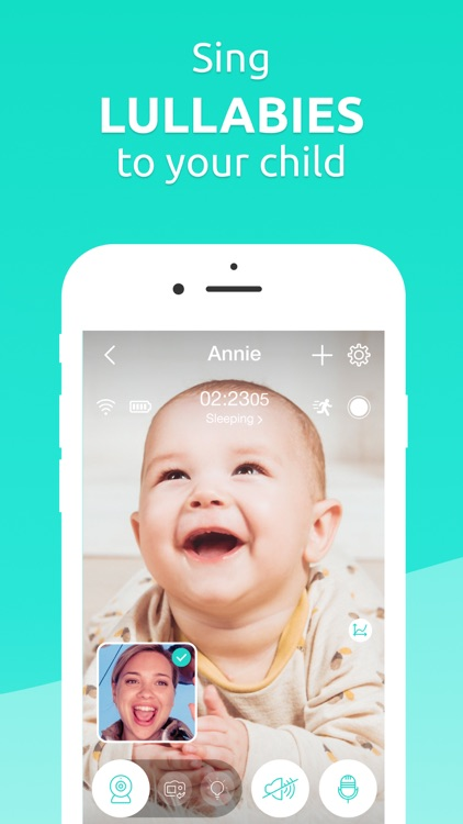 Annie Baby Monitor: Nanny Cam