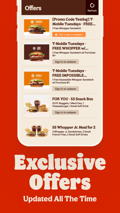 messages.download BURGER KING® App software