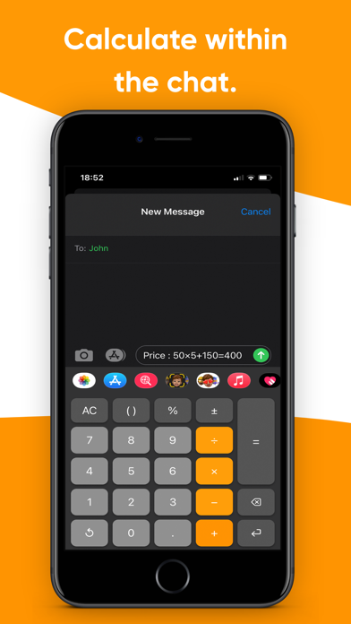 Calculator Keyboard - Calku Screenshots
