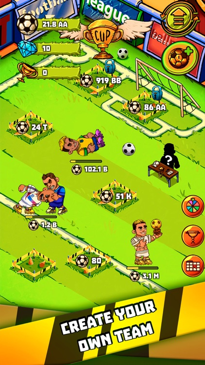 Idle Soccer Tycoon - Clicker screenshot-0