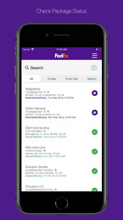 FedEx Mobile screenshot-0