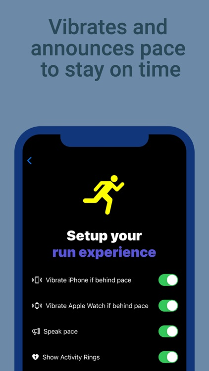 PaceRunner: Run at your pace