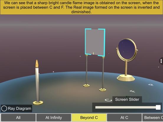 Concave mirror properties screenshot 16
