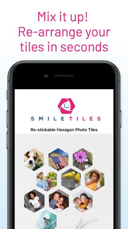 SmileTiles Hexagon Photo Tiles screenshot-6