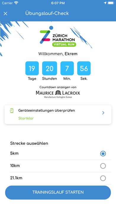 Zürich Marathon Virtual RunScreenshot von 4