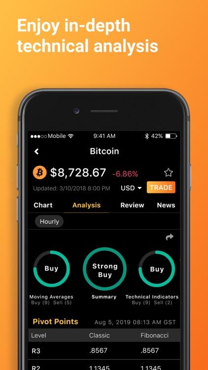 Bitcoin & Crypto Tracker screenshot-4
