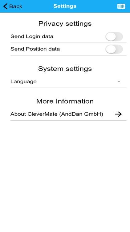 CleverMate - Subris GmbH screenshot-9