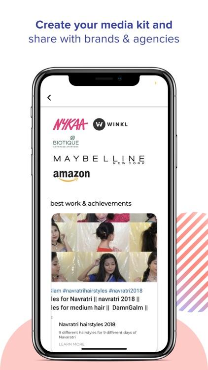 Winkl Influencer brand collabs screenshot-4