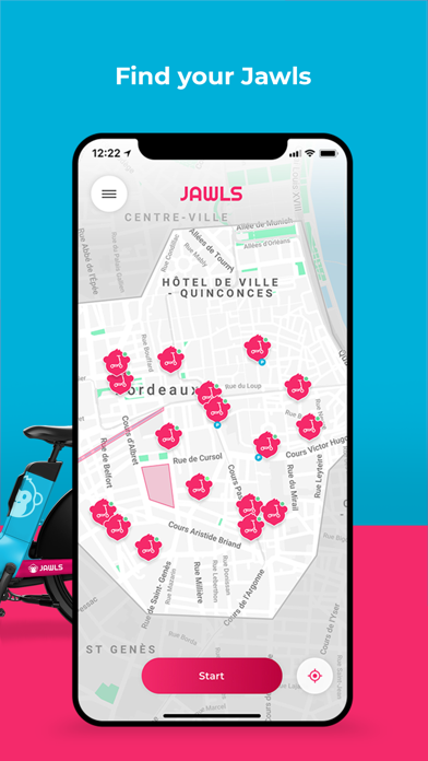 messages.download JAWLS E-scooter & Bike Sharing software
