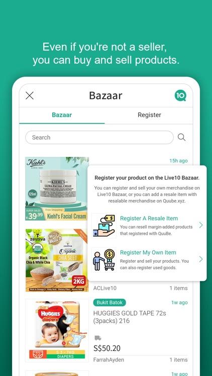 Live10 - Social Shopping screenshot-3