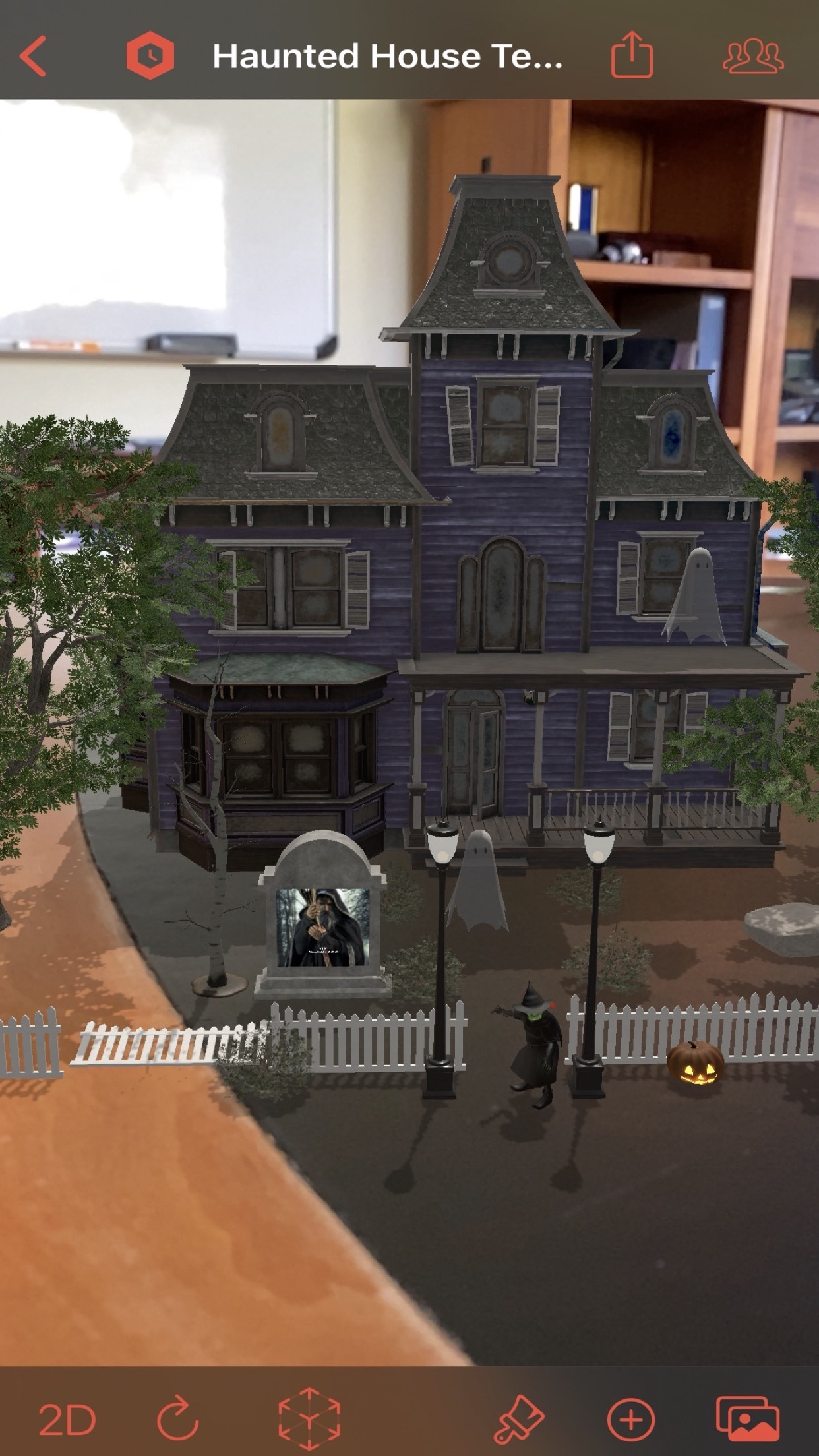 Screenshot do app Timebox 3D Collage Maker