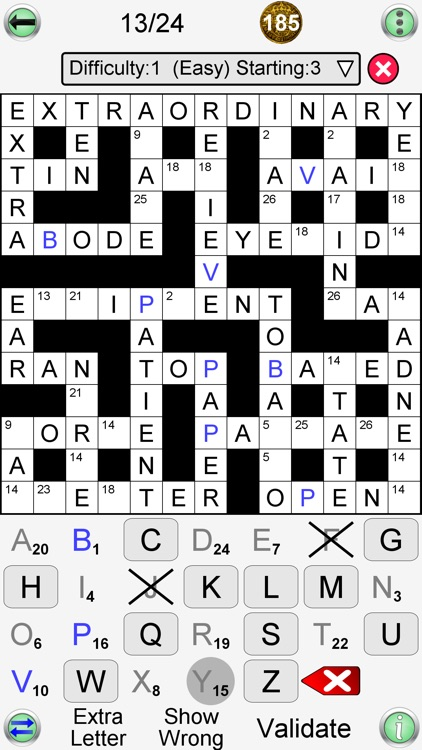 Arrow Crossword & Other Games screenshot-9