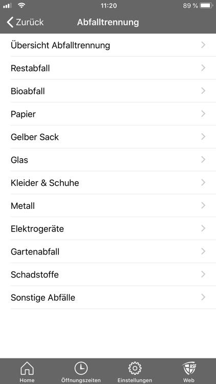 ASF Abfall App screenshot-7