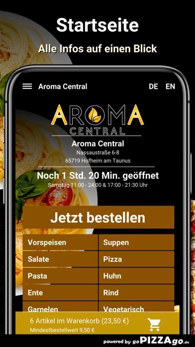 Aroma Central Hofheim screenshot 2