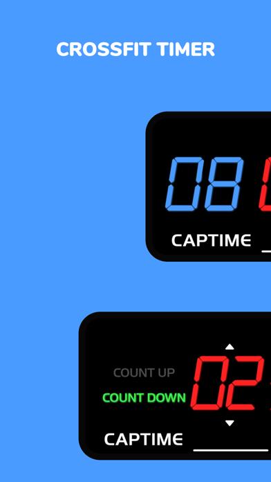Screenshot #1 pour Captime - Crossfit Timer