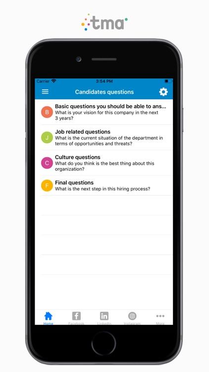 TMA Job Interview Questions screenshot-6