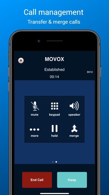 MOVOX Mobile Softphone screenshot-4