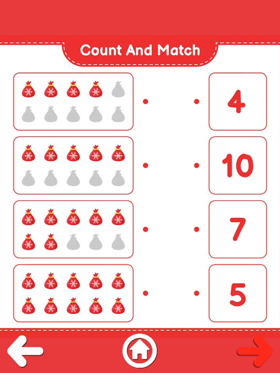 Count And Match XMas screenshot 12