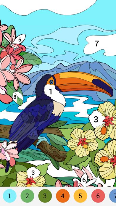 Happy Color - تلوين الأرقام(لقطة شاشة2