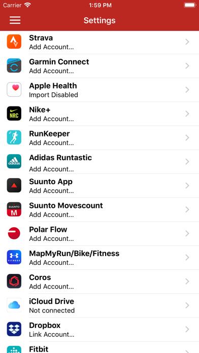 RunGap - Workout Data Managerのおすすめ画像1