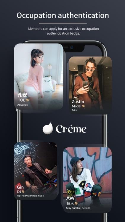 Creme - Meet New Friends screenshot-3