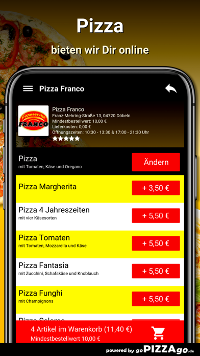Pizza Franco Döbeln screenshot 5