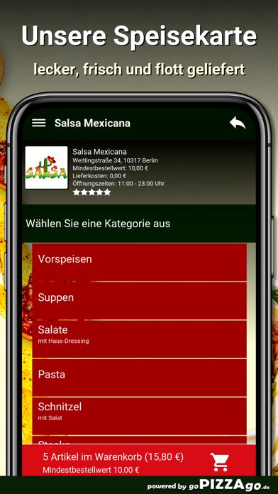 Salsa Mexicana Berlin screenshot 4