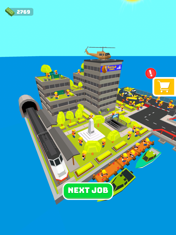 iPad Image of Build Roads