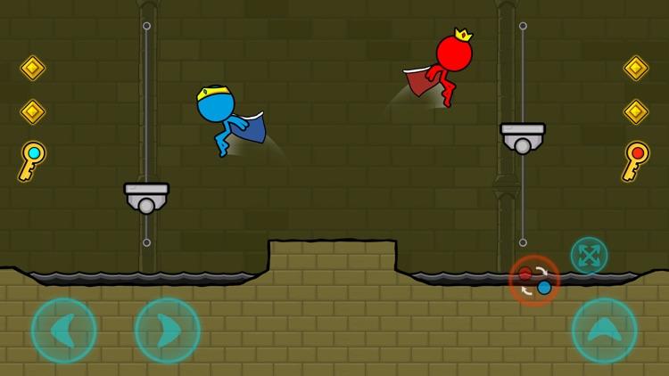 Red & Blue Stickman screenshot-3