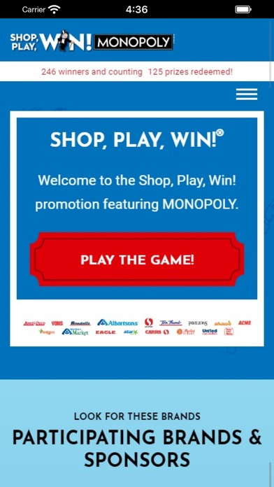 Shop, Play, Win!® MONOPOLY wiki review and how to guide