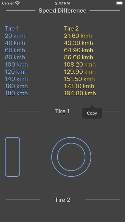 Tire Size Calculator Plus screenshot-4