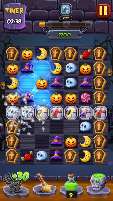 Lost Pumpkin - A Match Puzzle screenshot 3