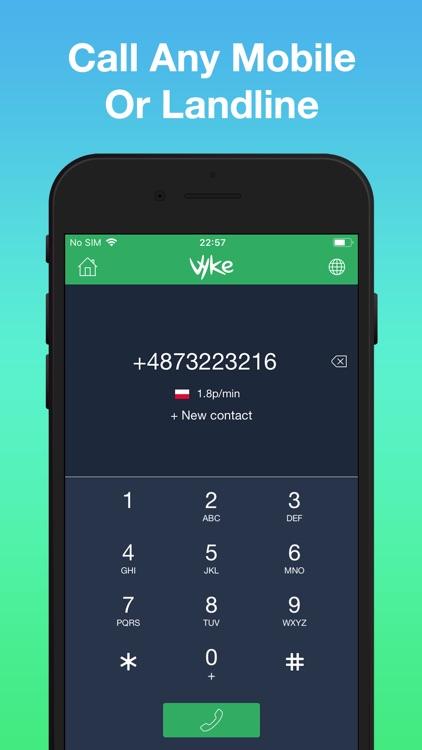 Vyke: Second Phone Number screenshot-5