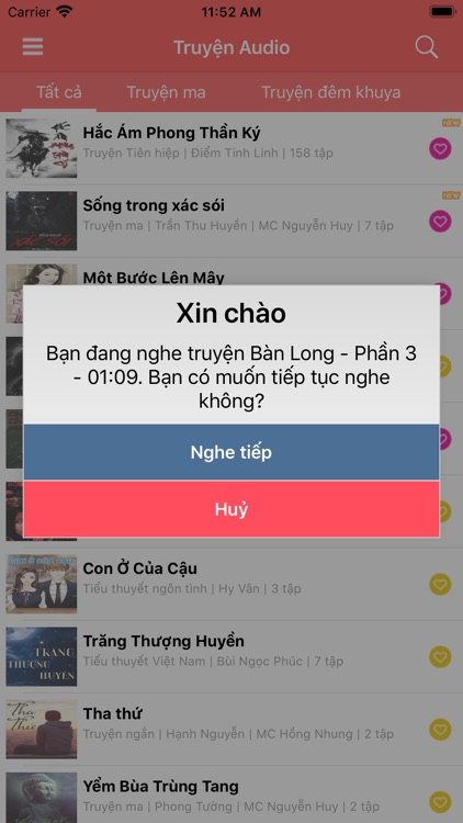 Truyện Việt Audiobook screenshot-5