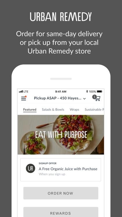 Urban Remedy Mobile