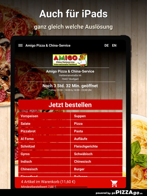 Amigo Pizza Stuttgart screenshot 7
