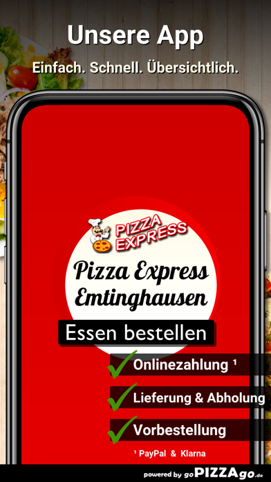 Pizza Express Emtinghausen screenshot 1