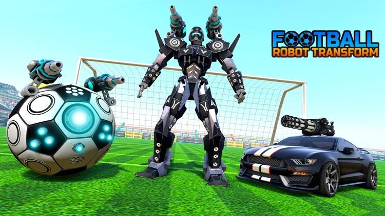 Football Robot Games Transform screenshot-3