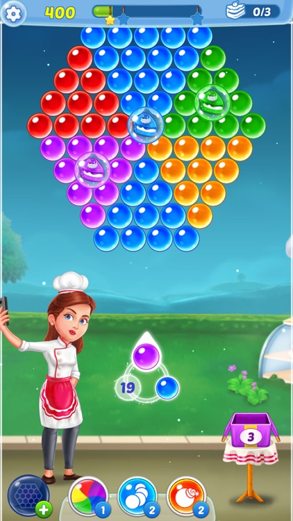 Bubble Shooter Ⓞ Pastry Pop screenshot-6